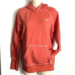 Nike thermafit orange hoodie. EUC